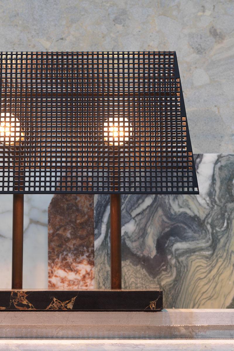 table lamp - trapèze